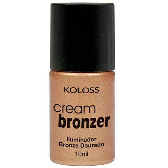 ILUMINADOR CREMOSO CREAM BRONZER Koloss Make Up