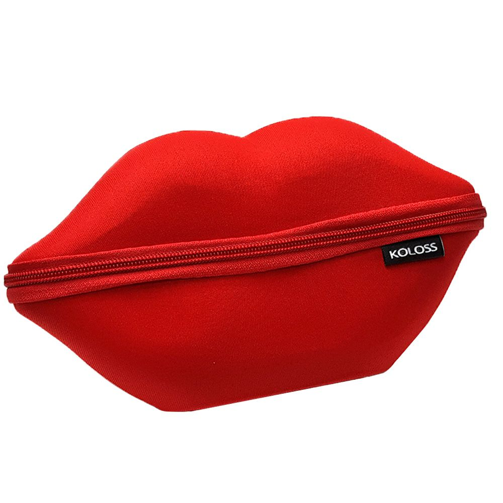 NECESSAIRE BOCA VERMELHA KOLOSS MAKE UP