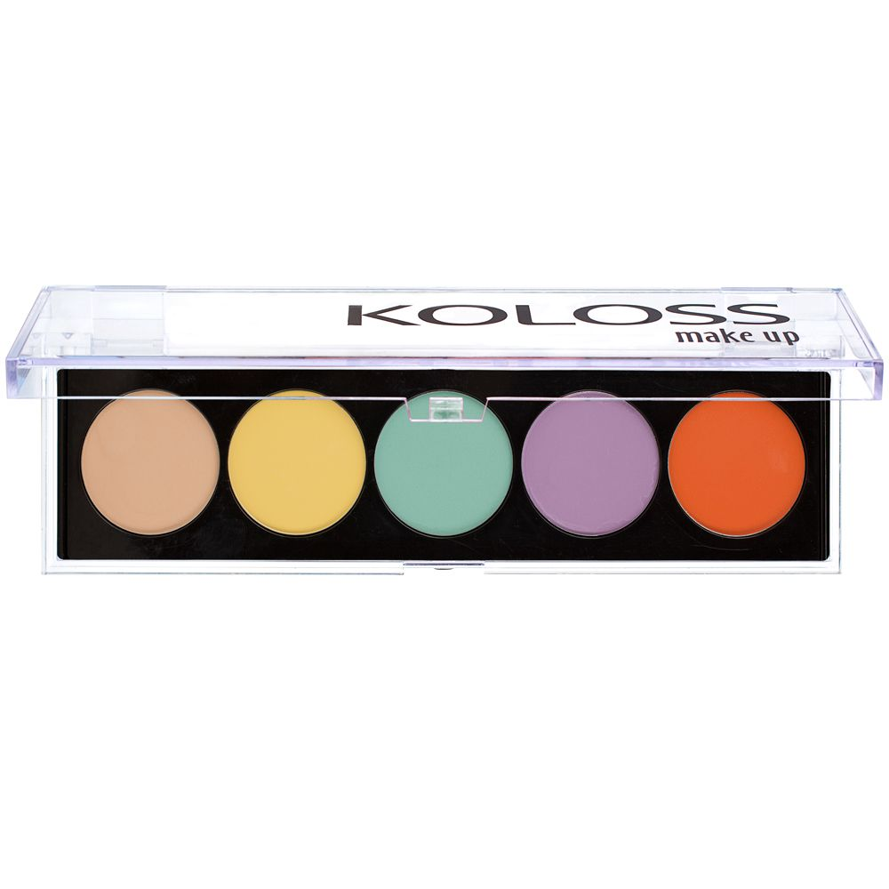 PALETA DE CORRETIVOS 01 - INACREDITÁVEL Koloss Make Up