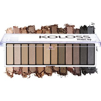 PALETA DE SOMBRAS 02 - POWERFULL Koloss Make Up