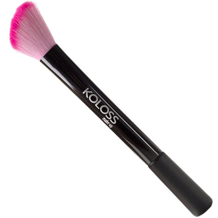PINCEL PINK - PK03 - CHANFRADO PARA BLUSH Koloss Make Up