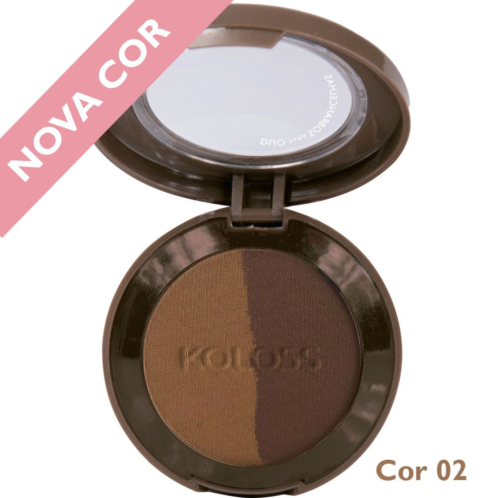 SOMBRA DUO DE SOBRANCELHA Koloss Make Up