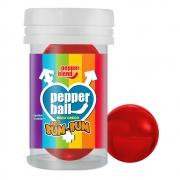 Pepper Ball Meu Bum-Bum Beijo Grego - Morango