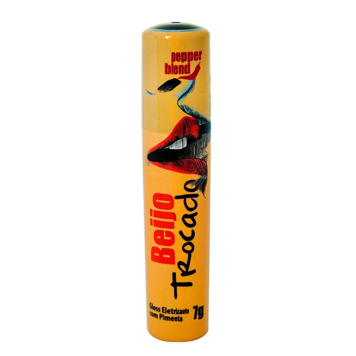BEIJO TROCADO 7g - Gloss Eletrizante  - Sua Pepper Blend | Doces Especiais