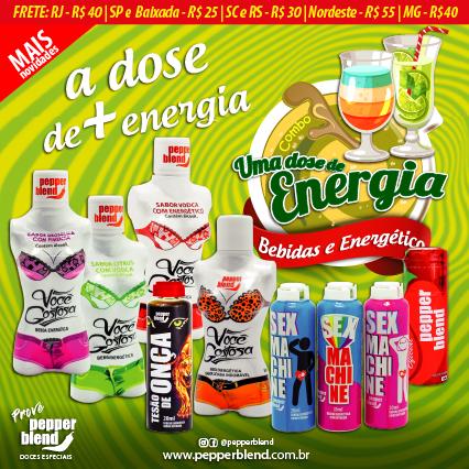 COMBO ENERGIA  - Sua Pepper Blend | Doces Especiais