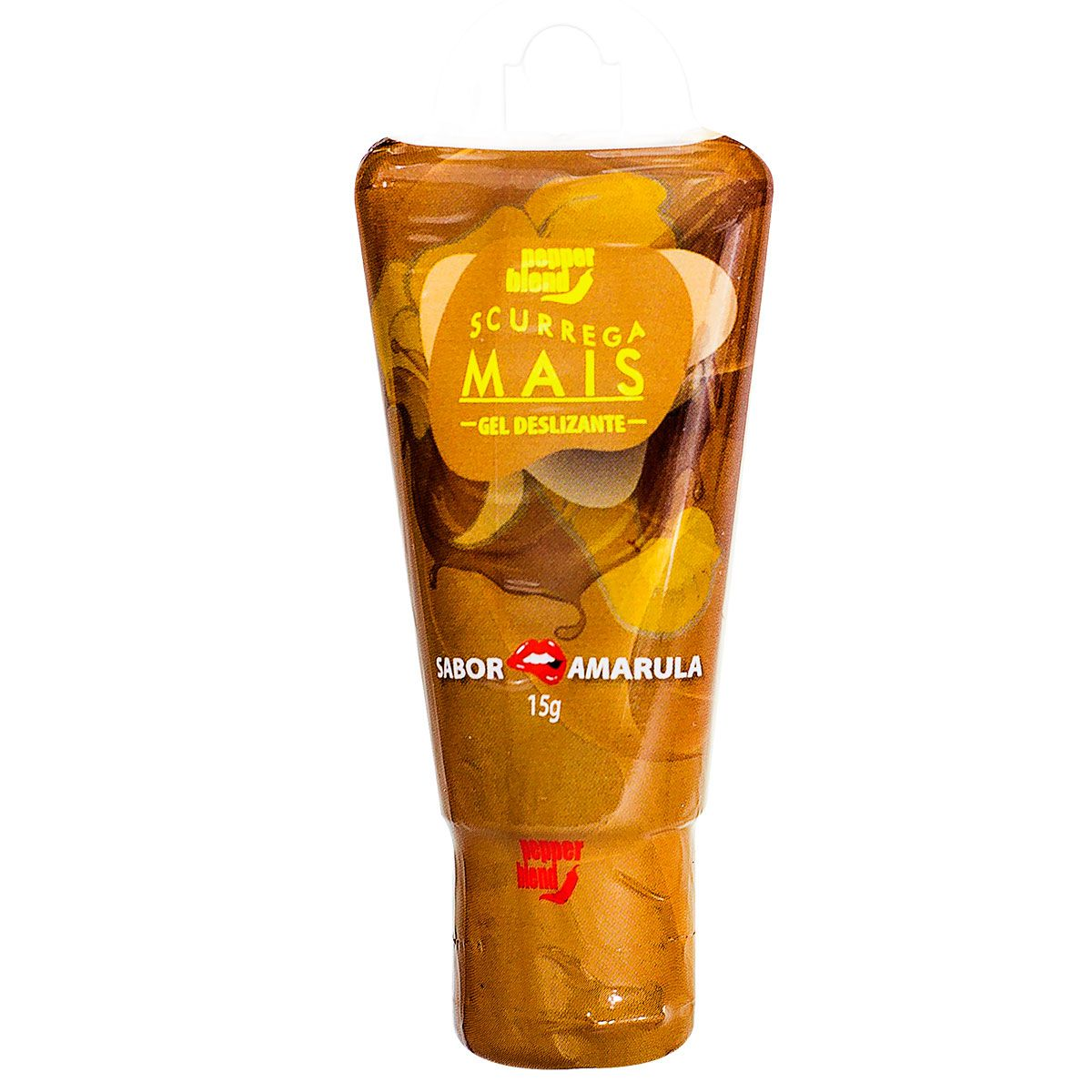 SCURREGA - Gel Comestível sabor Amarula - 15g  - Sua Pepper Blend   Doces Especiais