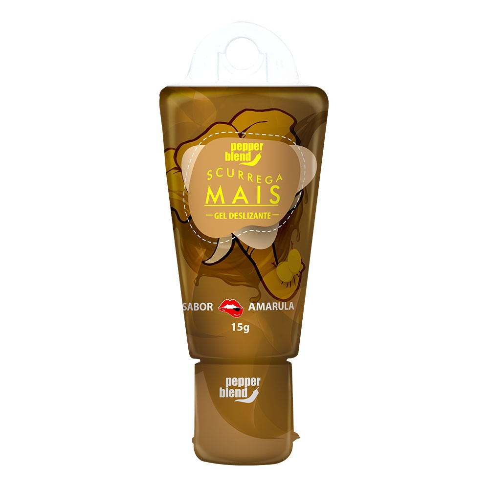 SCURREGA - Gel Comestível sabor Amarula - 15g