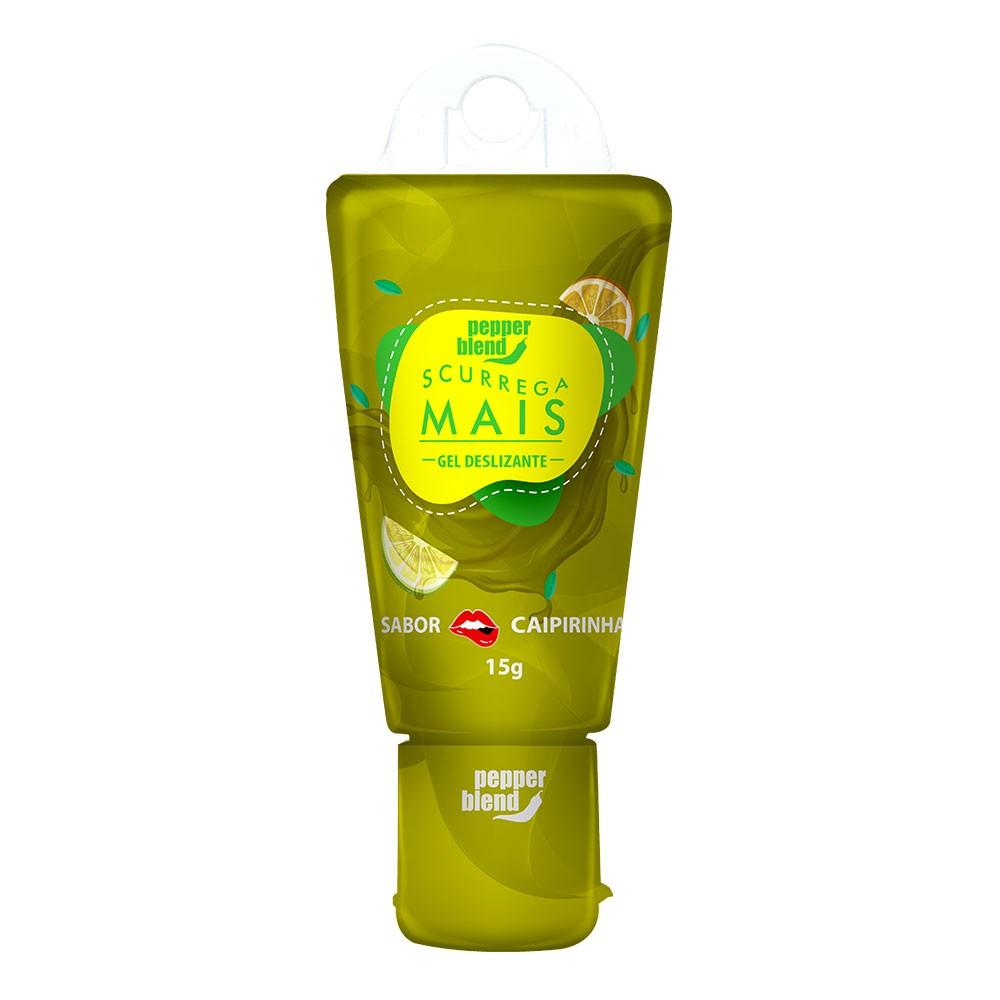SCURREGA - Gel Comestível sabor Caipirinha - 15g