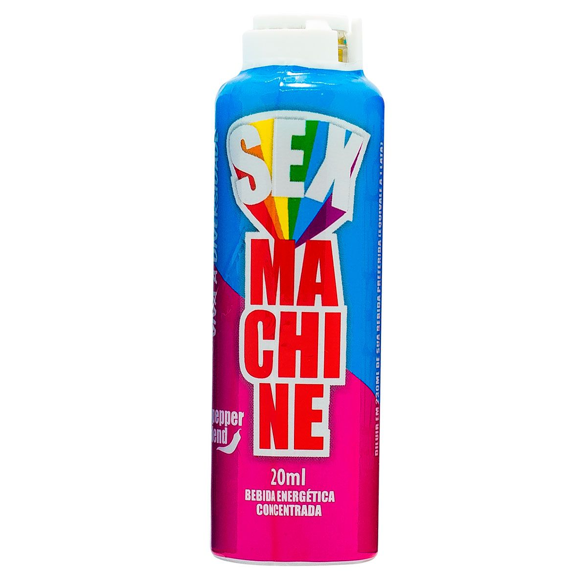 SEX MACHINE DIVERSIDADE - 20ml  - Sua Pepper Blend | Doces Especiais