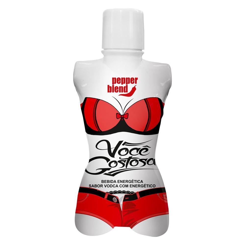 VOCÊ GOSTOSA - Sabor Vodca com Energético 50ml  - Sua Pepper Blend | Doces Especiais