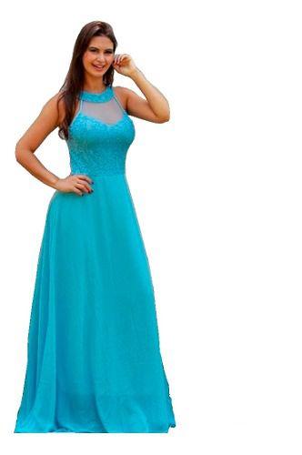 Vestido Serenity Marsala Azul Royal Moda Festa Madrinha Formatura Batismo