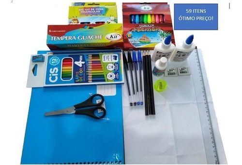 Material Escolar Vários Itens Caderno Qualidade Ótimo Preço
