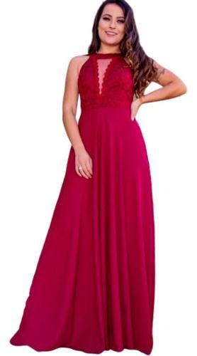 Vestido De Festa Marsala E Rosê Casamento Formatura