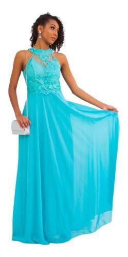 Vestido De Festa Tiffany Madrinha Casamento Formatura Bojo
