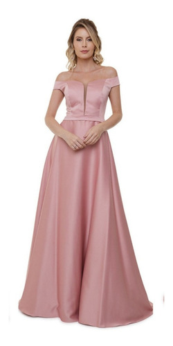 Vestido De Festa Luxo De Madrinha Casamento - Arrase!