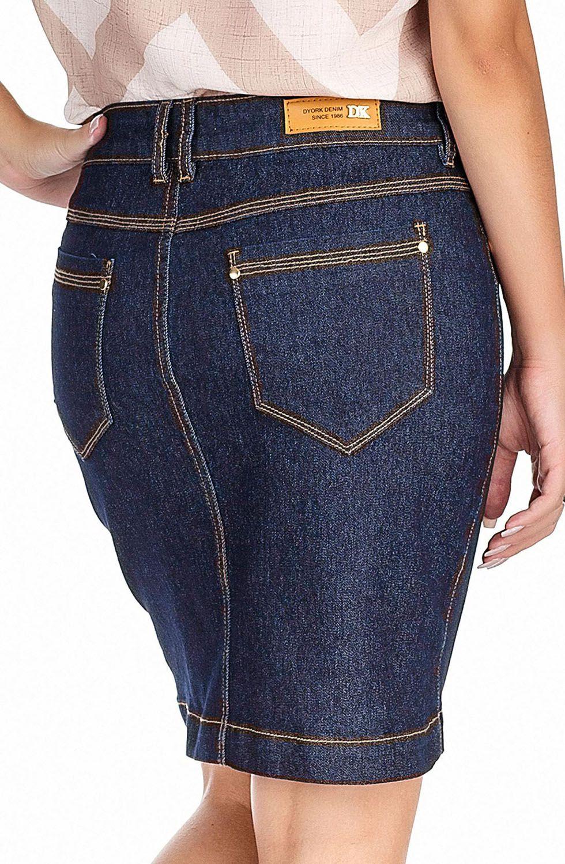 Saia Jeans Curta Dyork Jeans