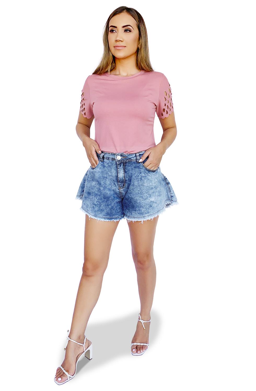 Shorts Jeans Godê Feminino