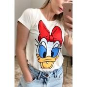 T-Shirt  Feminina Margarida