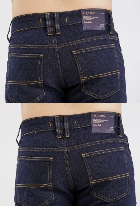 Bermuda Jeans Masculina Dyjoris Azul Escuro