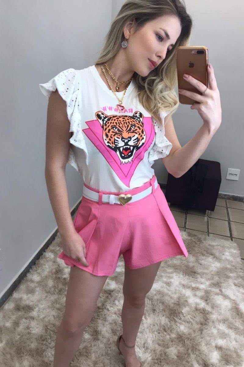 Blusa Feminina Tigre