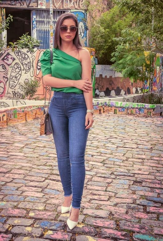 Calça Jeans Feminina Jegging