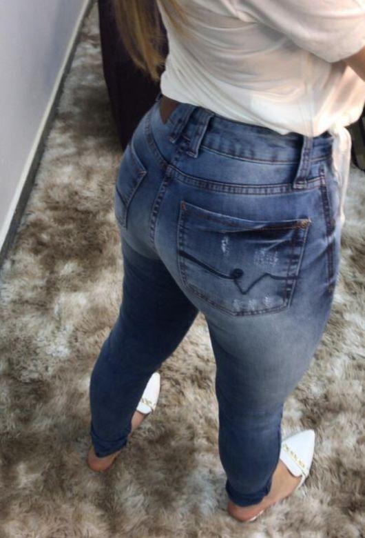 Calça Jeans Feminina Paca