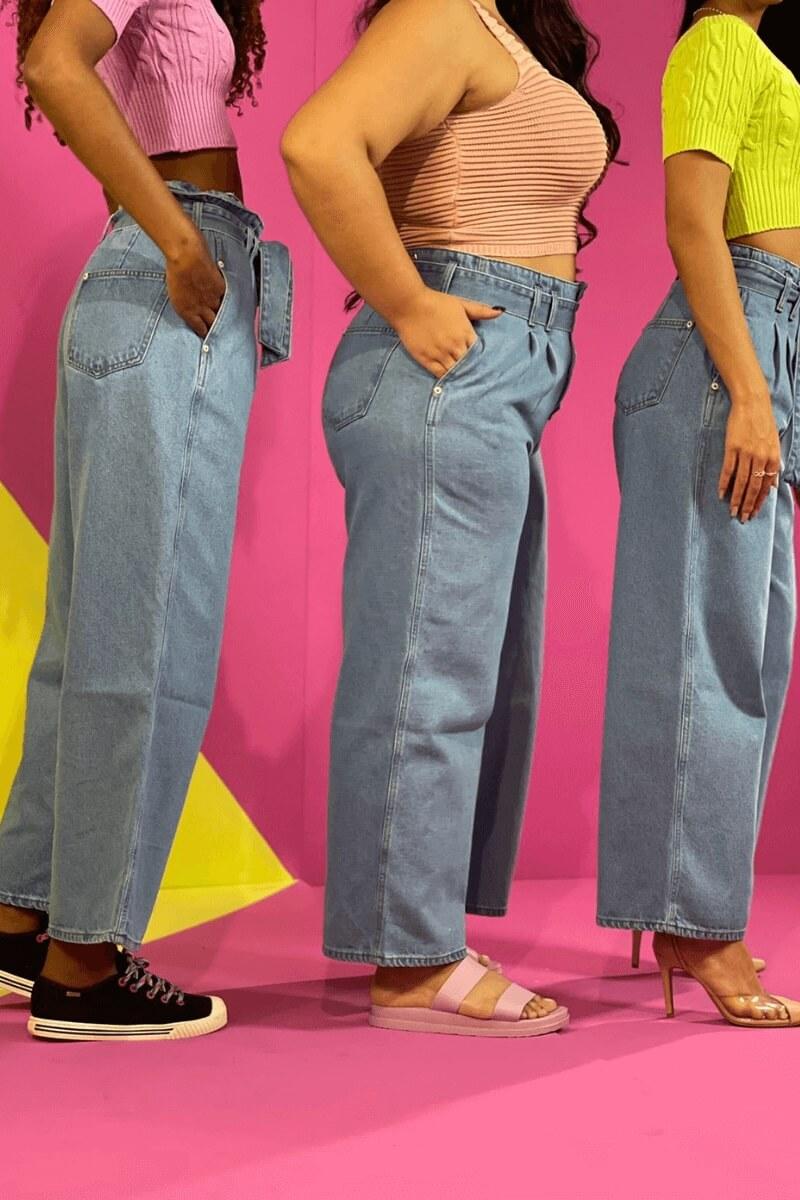 Calça Feminina Pantalona Clochard