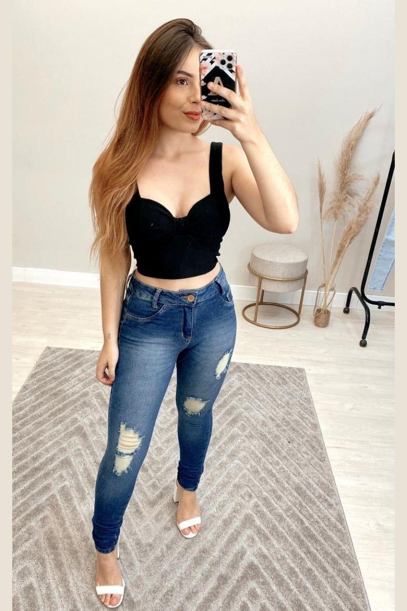 Calça Jeans Feminina Patty