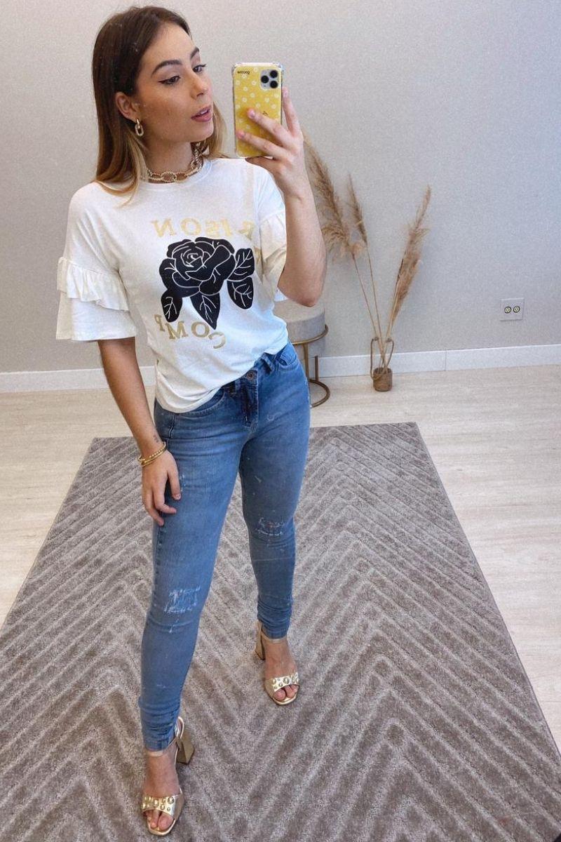 Calça Jeans Feminina Alana