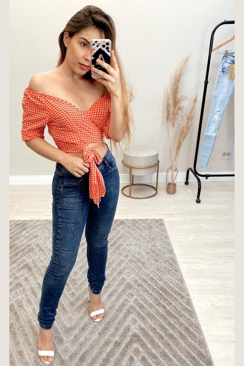 Calça Jeans Feminina Brenda