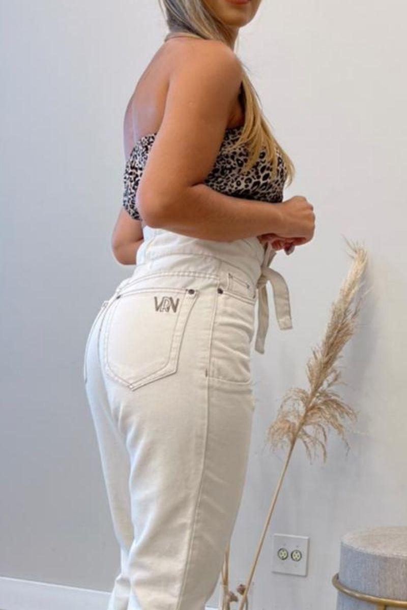 Calça Jeans Feminina Clochard