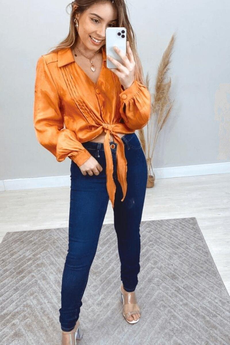 Calça Jeans Feminina Dyjoris 1
