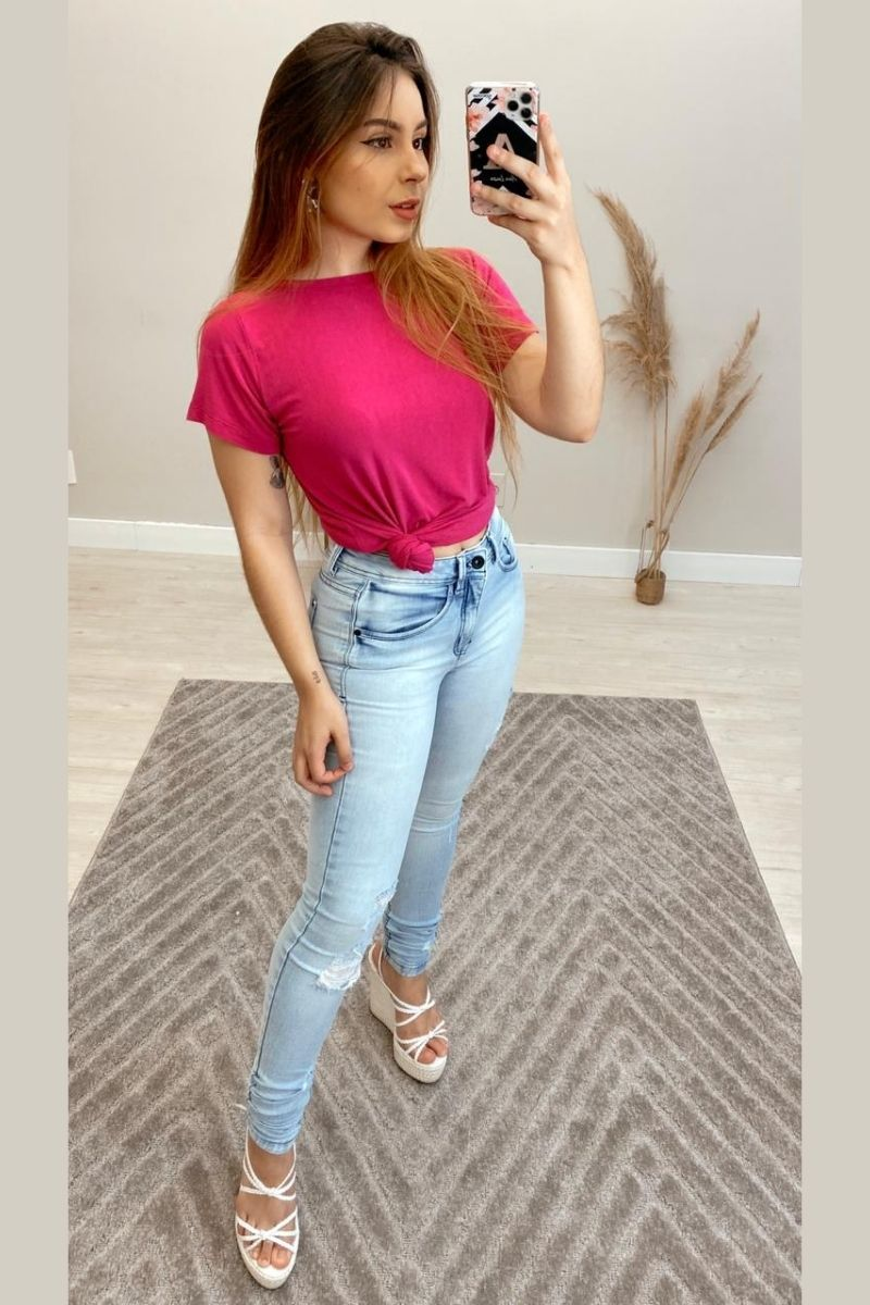 Calça Jeans Feminina Fabiana
