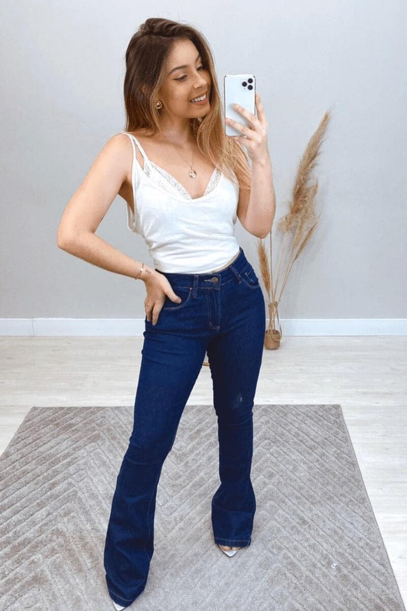 Calça Jeans Feminina Flare WRANGLER