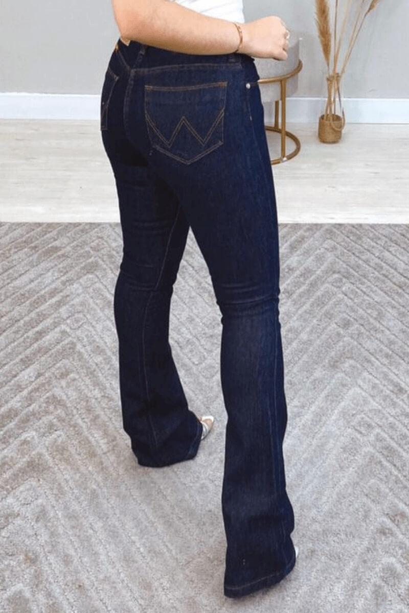 Calça Jeans Feminina Flare Wrangler PT