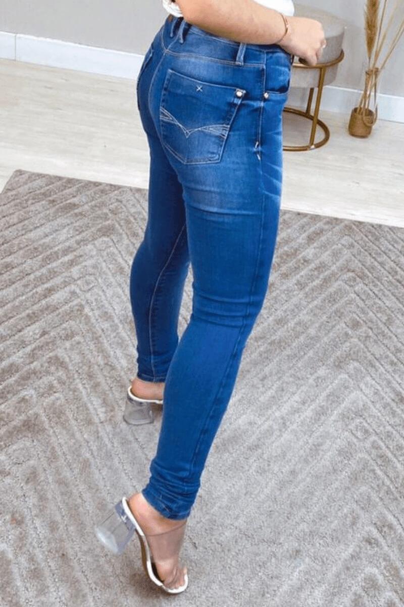 Calça Jeans Feminina Ifigênia
