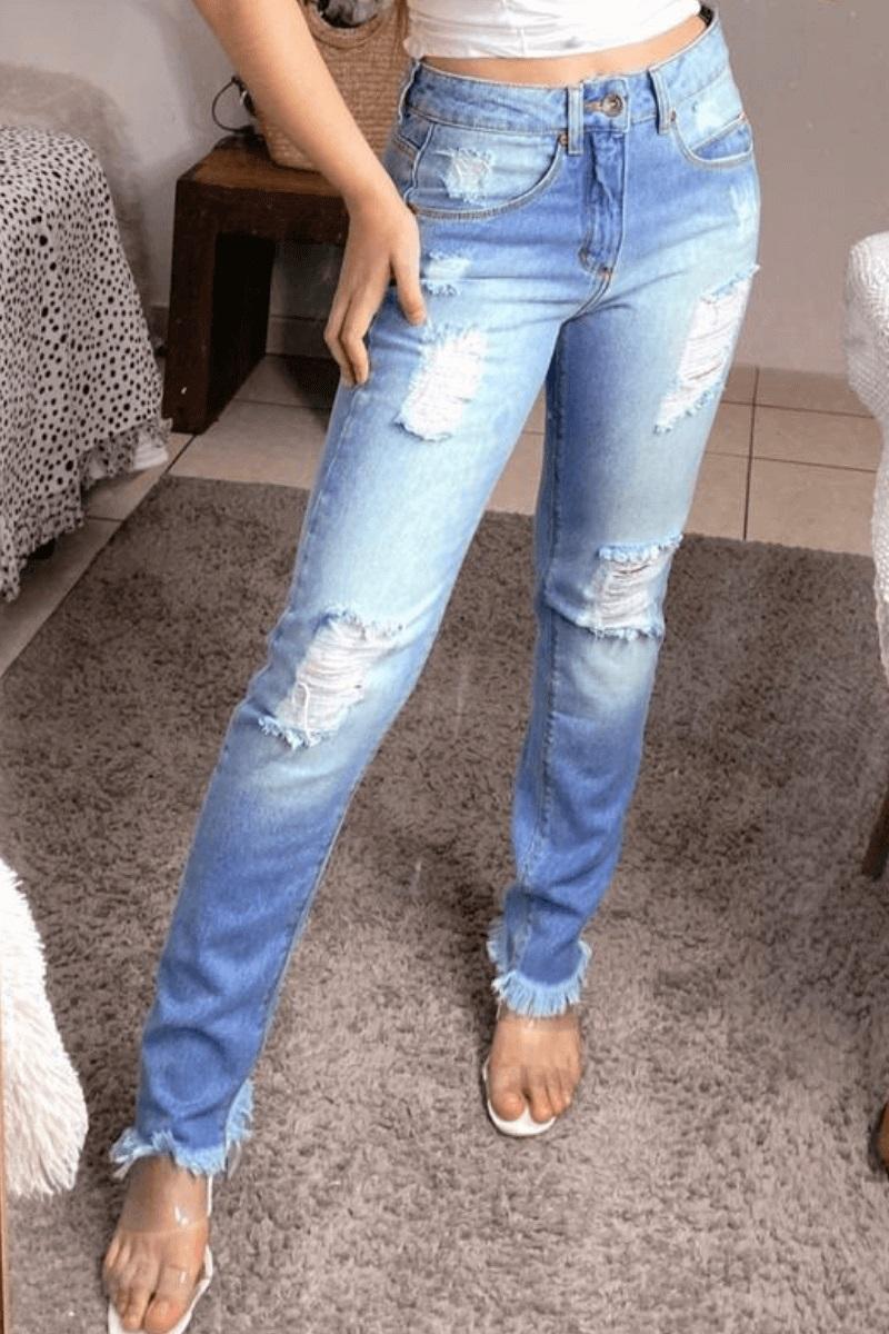 Calça Jeans Feminina Kal