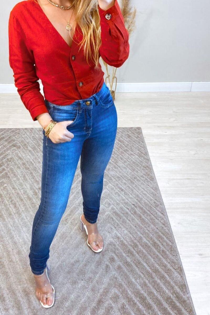 Calça Jeans Feminina Livia