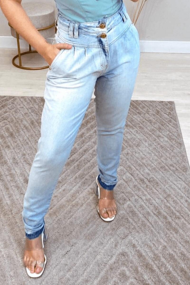Calça Jeans Feminina Mom Mariana