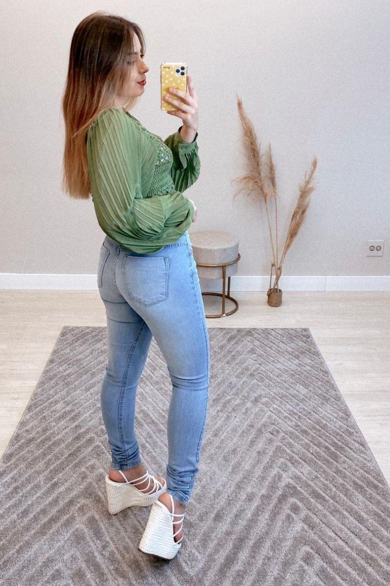 Calça Jeans Feminina Nathalia