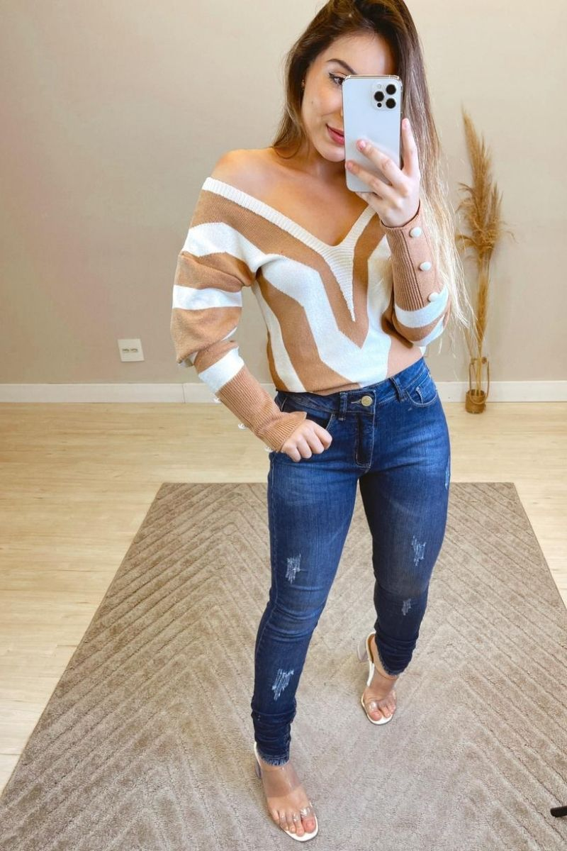 Calça Jeans Feminina VRN 06