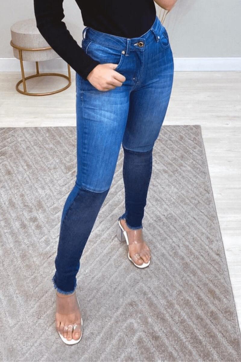 Calça Jeans Skinny Feminina Alburquergue