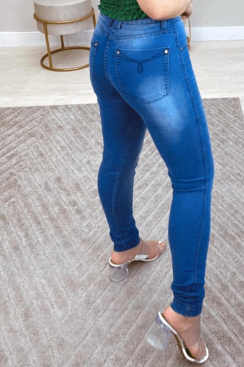 Calça Jeans Skinny Feminina Jabaquara