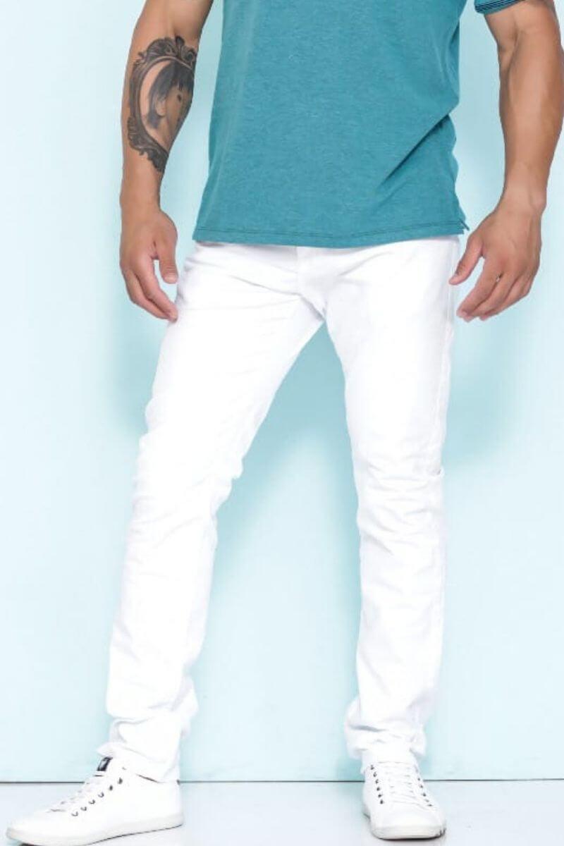 Calça Masculina Branca