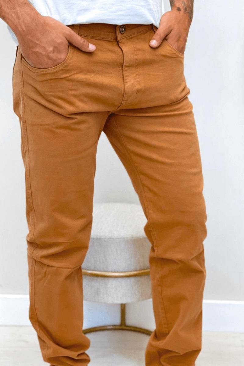 Calça Masculina Slim Max Denim