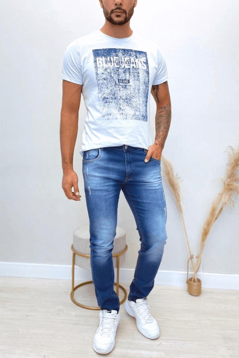 Calça Jeans Masculina Slim Teezz
