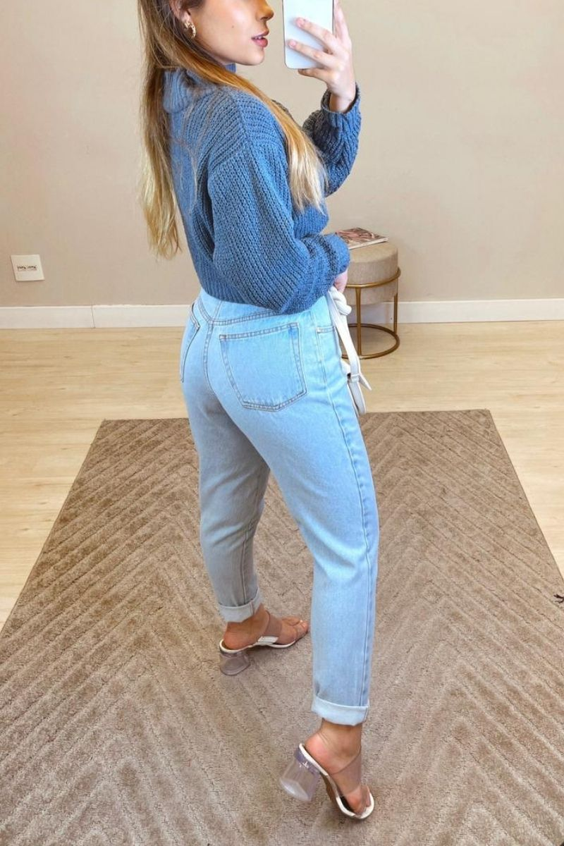 Calça Mom Jeans Ana Luiza Avelar