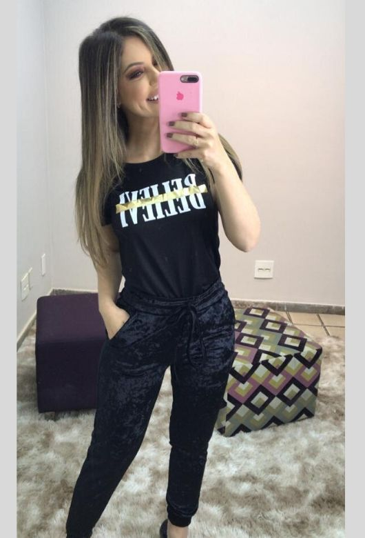 Calça Plush Feminina