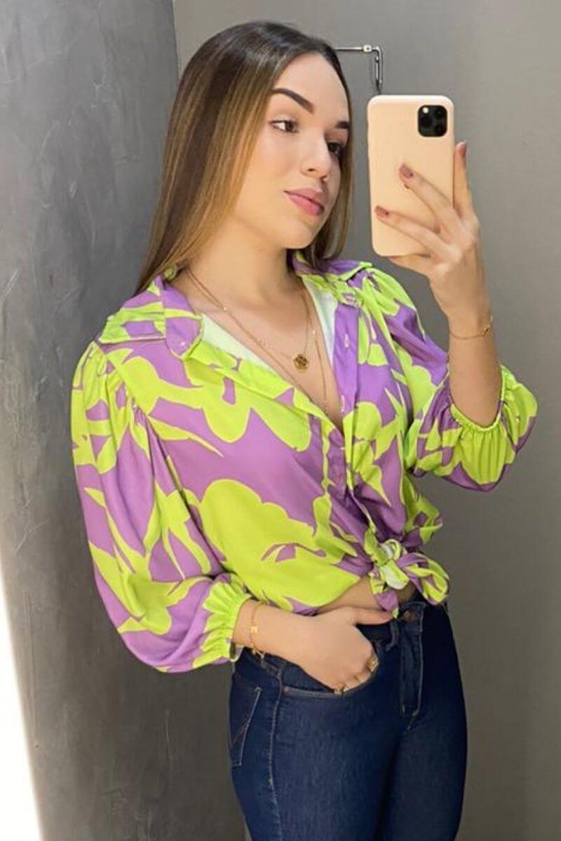 Camisa Feminina Haille