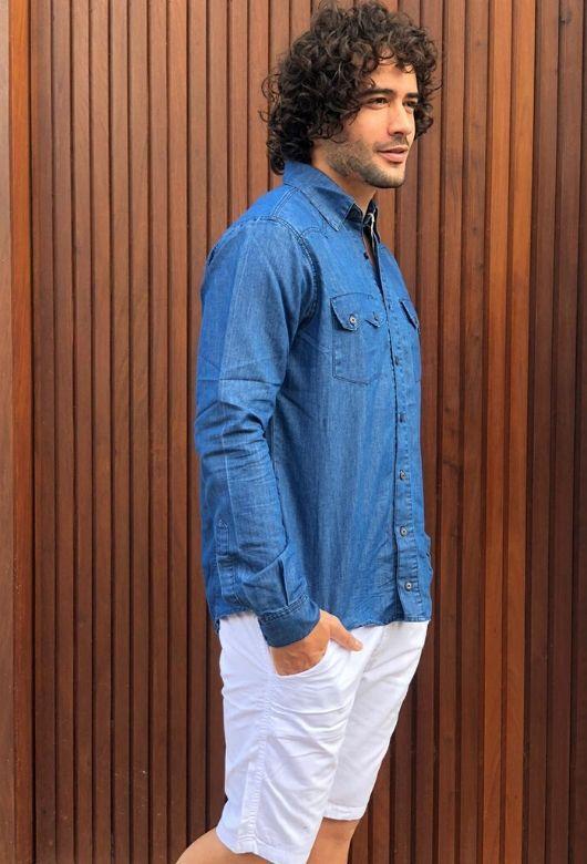 Camisa Jeans Lee